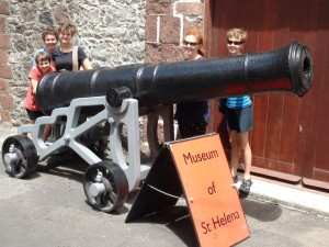 One of the remaining cannon once used to protect the Island