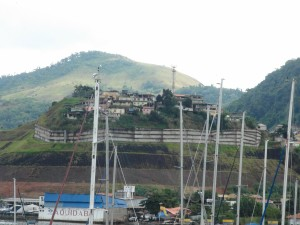 Angra dos Reis as seen from the anchorage