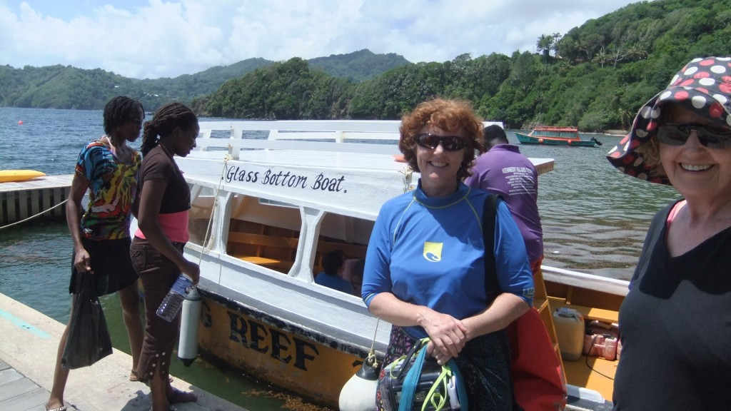 Our glass boat expedition