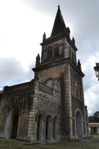 A church we visited in our search of the volcano museum . . .